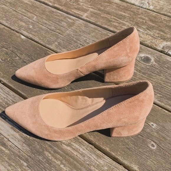 Franco Sarto Shoes | Callan Suede Block